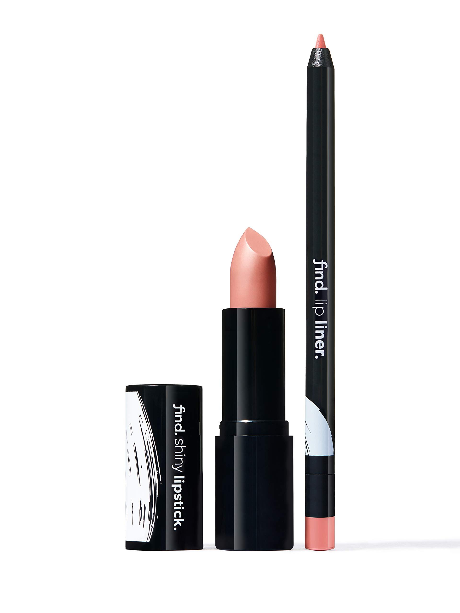 FIND - Warm Brownie (Barra de labios brillante n.2 + Perfilador de labios