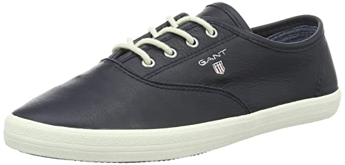 GANT New Haven, Zapatillas para Mujer, Azul Marino, 39 EU