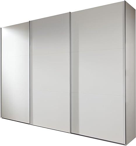 Wimex 903812 Armario de Puertas correderas 313 x 236 x 65 cm, Frontal y Cuerpo Alpin Color Blanco: Amazon.es: Hogar