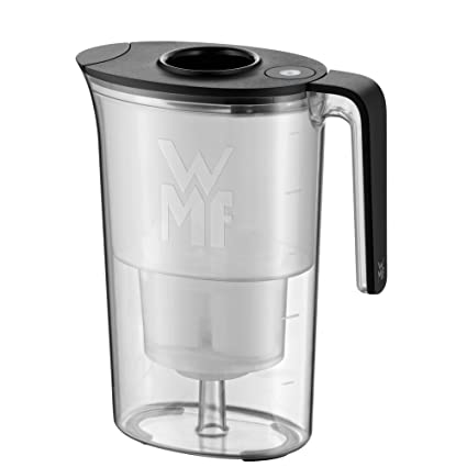 WMF Akva 0617827390 jarra de agua con filtro 2,6 litros negro