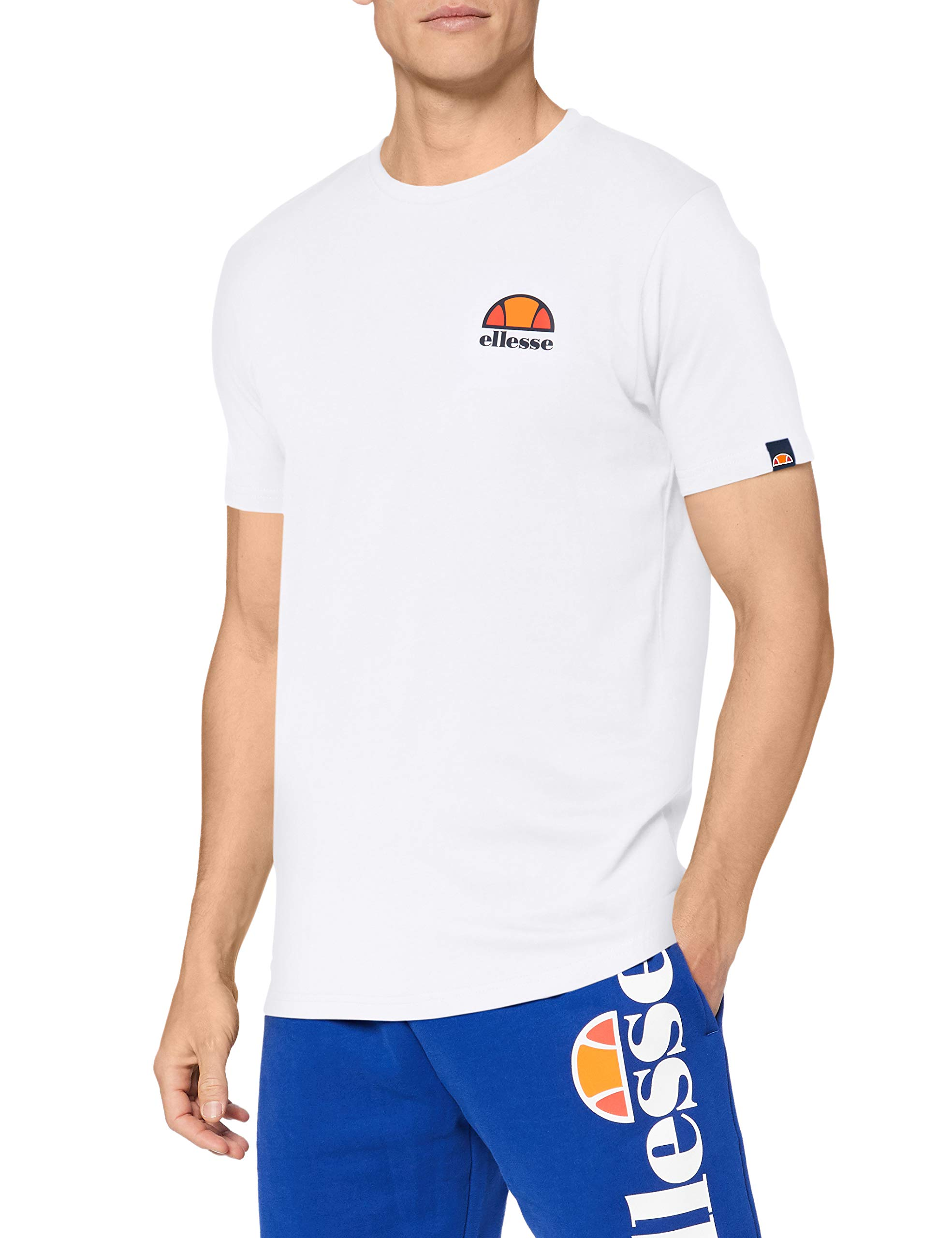 ellesse Canaletto Mens T-Shirt in Atmosphere