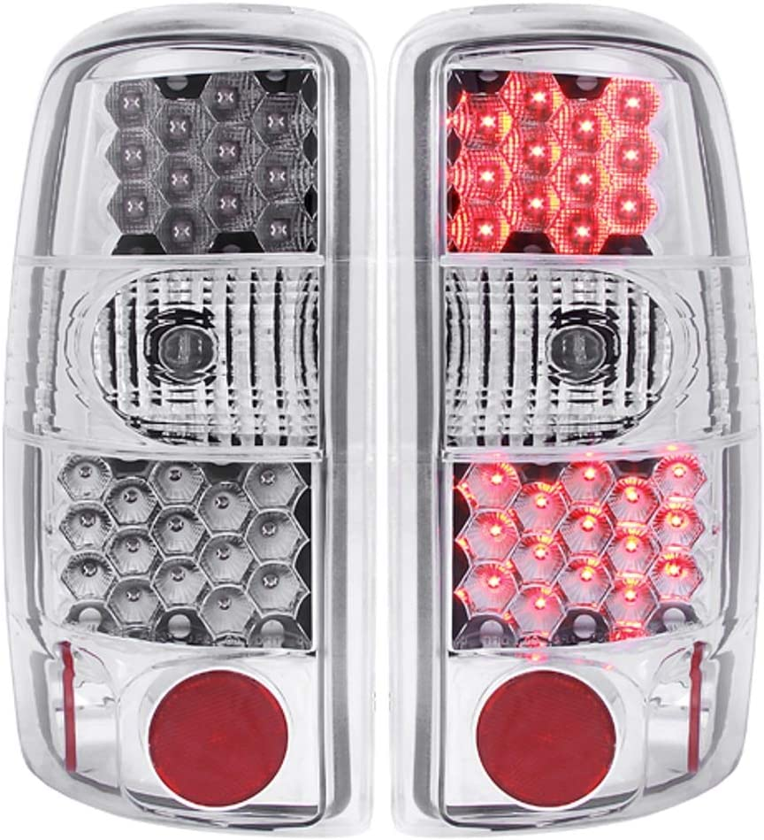 Anzo USA 311001 Cadillac//Chevrolet//GMC Red//Clear LED Tail Light Assembly Sold in Pairs