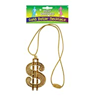Bristol Novelty BA510A Dollar Medallion String Cord, Gold, One Size