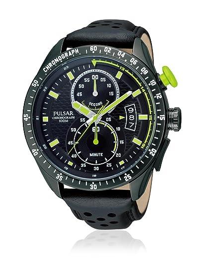 Pulsar Reloj analogico para Hombre de Cuarzo con Correa en Piel PW4009X1: Amazon.es: Relojes