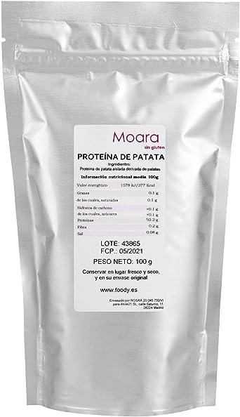 Proteína de Patata 100g. Sustituto del Huevo. 100% de origen ...