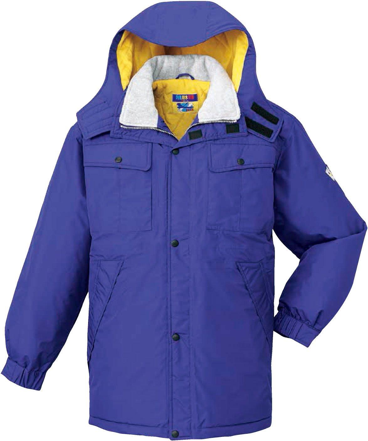 自重堂(JICHODO)防寒コート雨 雪 風 寒さ。悪天候からワーカーを守るシリーズ jd-28063 B01BNFT2G8 M|パープル パープル M