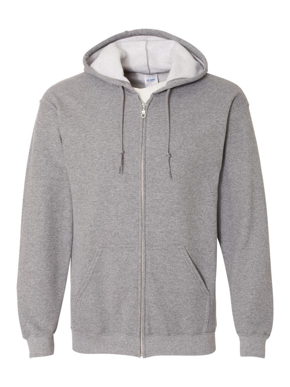 Gildan Heavy Blend Full-Zip Hooded Sweatshirt_Graphite Heather_large