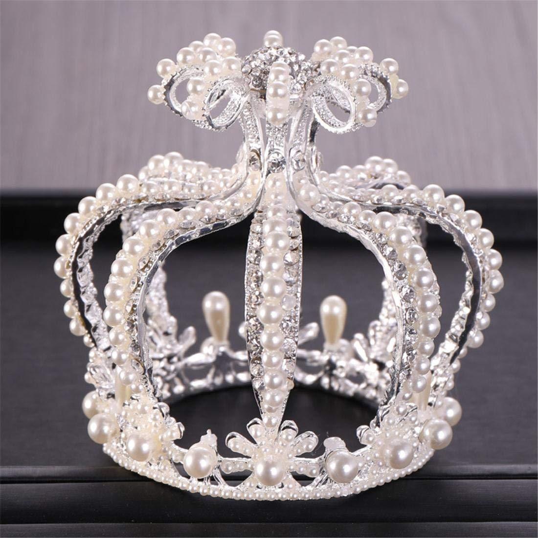 Excellent Cvthfyky Cake Accessories Crown Pearl Crown Birthday Cake Crown Funny Birthday Cards Online Kookostrdamsfinfo