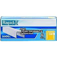 Rapid 23391100 1/4-Inch 19 Series Fine Wire Staples with R19E and R23, 5000 Per Box