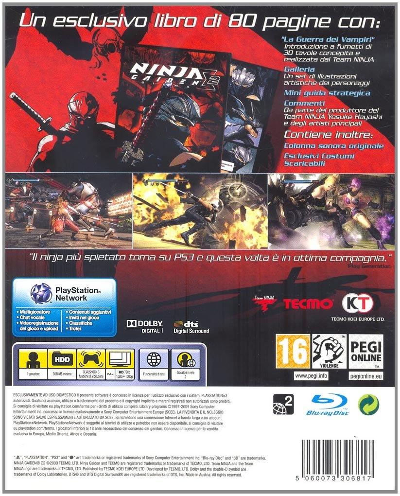 Amazon.com: PS3 - Ninja Gaiden Sigma 2 Special Edition ...