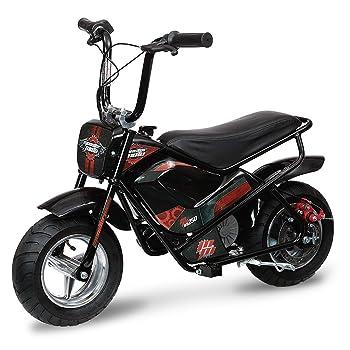 Monster Moto MM-E250-PR Black/Red/Pink Watt 250 W Electric Minibike