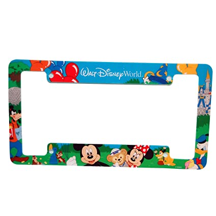 Amazon.com: Walt Disney World Car License Plate Frame: Automotive
