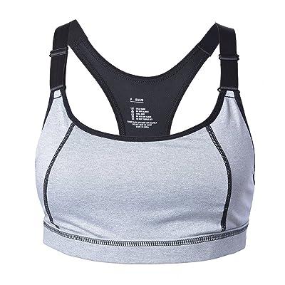 05961c212f6dd Encounter Femme Soutien-gorge de Sport Sous-vêtements Bra Brassière pour  jogging Yoga Gym Fitness