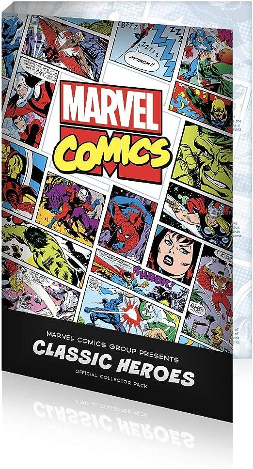 IMPACTO COLECCIONABLES Marvel - Colección Héroes Clásicos - Collector Pack: Amazon.es: Juguetes y juegos