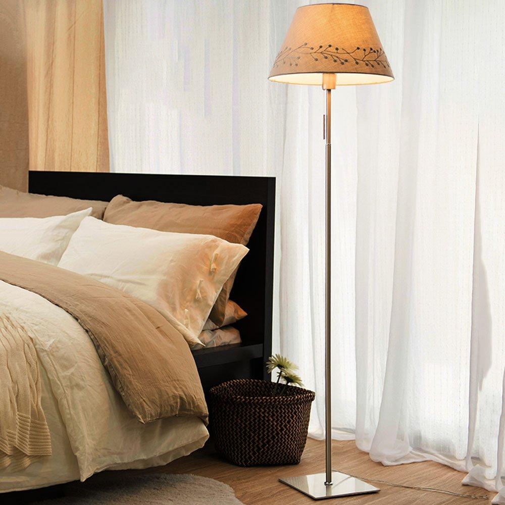 BODENLEUCHTE, Bügeleisen Stehleuchte Nordic kreative Einfachheit modernen Amerikaner Stehleuchte Wohnzimmer Schlafzimmer Studie Stehleuchte (Farbe wahlweise freigestellt) Wirkungsgrad: A +++ ( farbe : C )