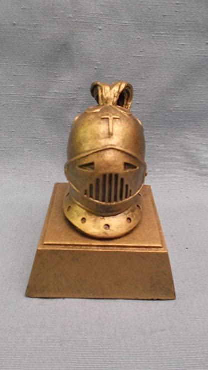 resin knight crusader mascot trophy award RS series483