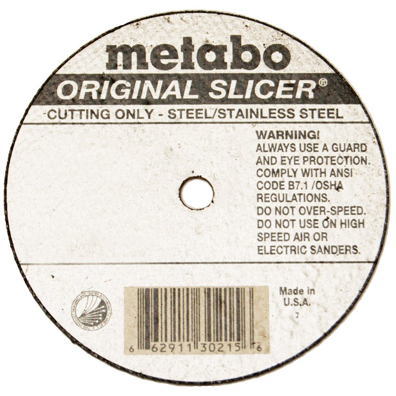 Metabo Slicer Cut Off Wheel 6 X .040 Box 50 55339