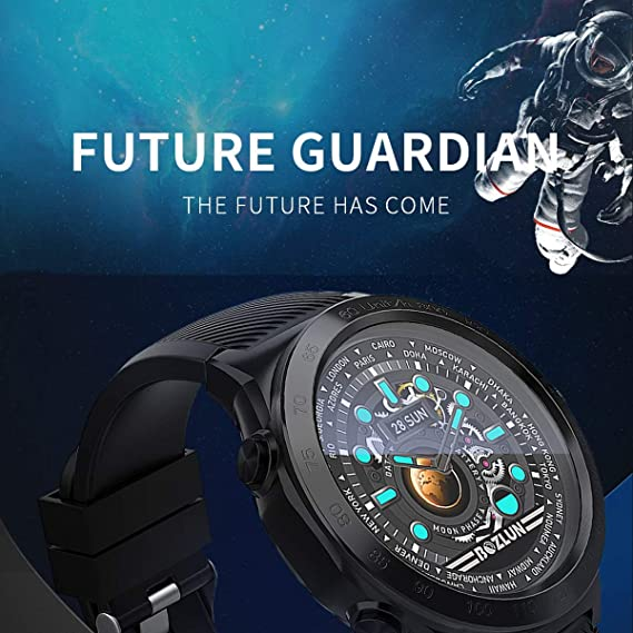 Amazon.com : cnBro Smart Watch with Heart Rate minitor ...