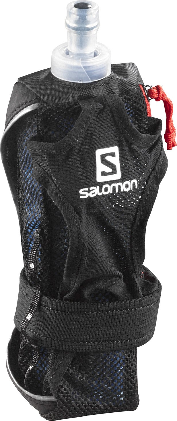 Salomon Hydro - Portabotellas para mano, color negro, talla única