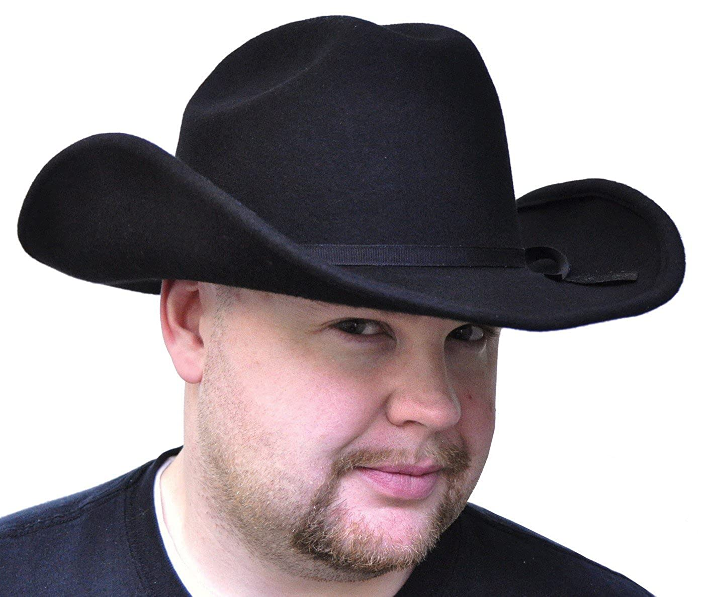 Dorfman Pacific Felt Cowboy Adult Costume Hat, Black GA09XL
