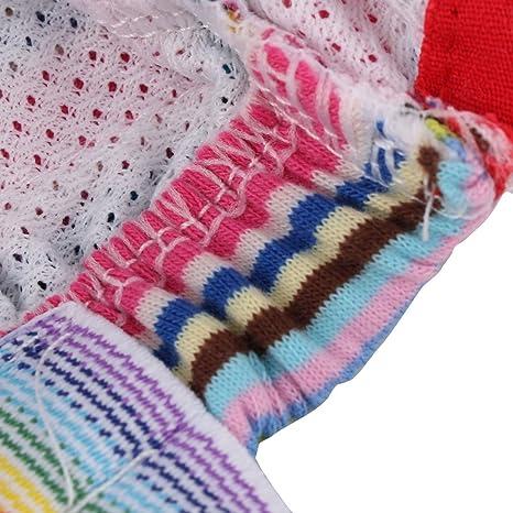 Amazon.com : eDealMax Mezclas de algodón Para mascotas Sanitaria bragas de la ropa Interior Ropa De Perro Perro de pañales Pantalones S Rojas : Pet Supplies