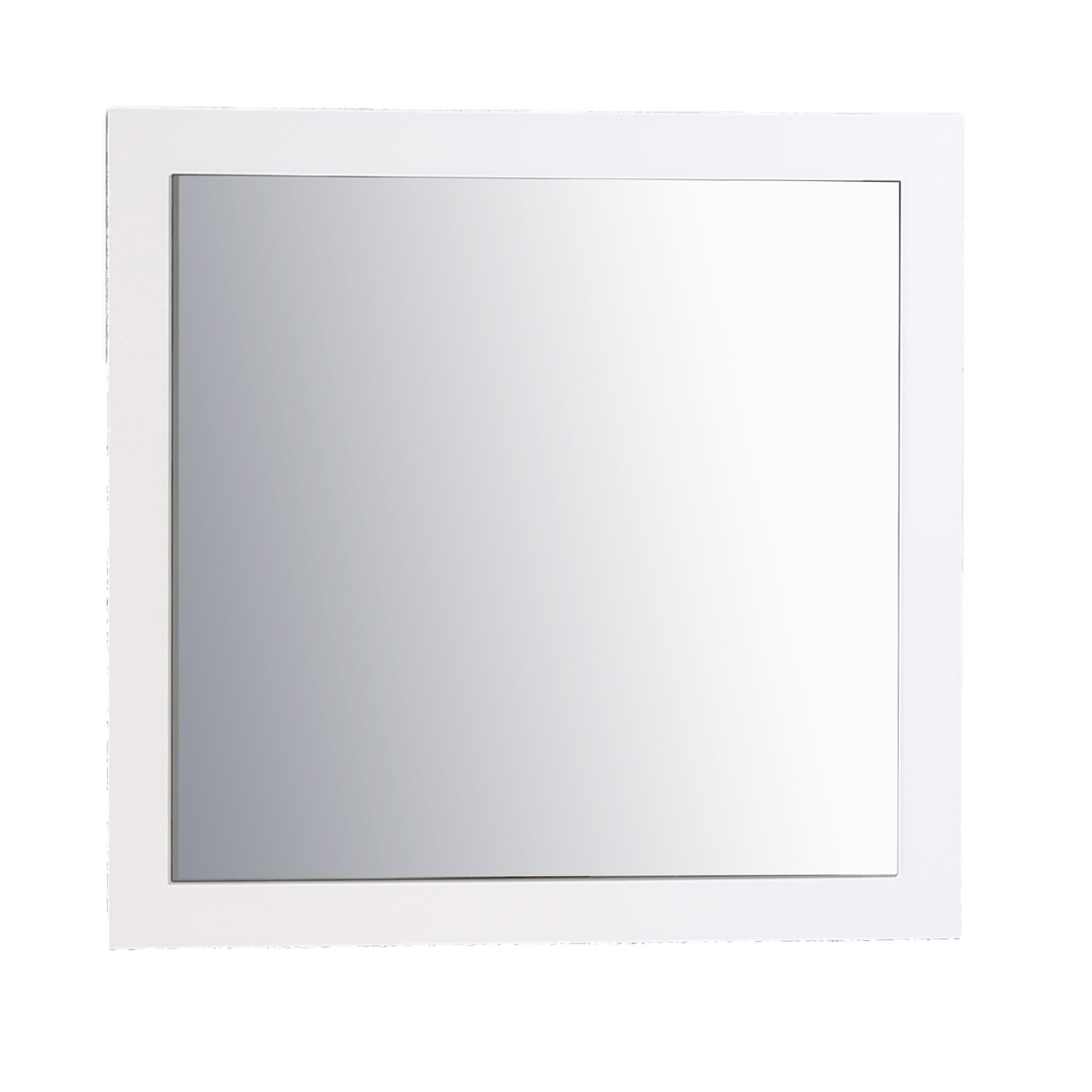 Eviva EVMR-30X30-GWH Sun 30'' Glossy White Mirror Combination, Gloss White by Eviva