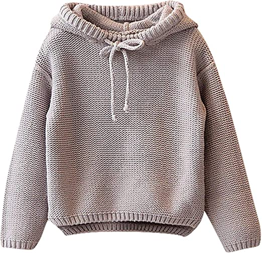 Girls Sweater Pullover Clothes Outwear Boys Long Sleeve Toddler Warm New 2019 1X