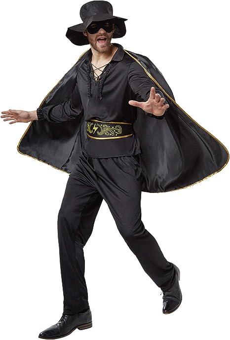 dressforfun 900531- Disfraz de Hombre Zorro, Traje de El Zorro ...