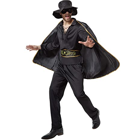 dressforfun 900531- Disfraz de Hombre Zorro, Traje de El ...