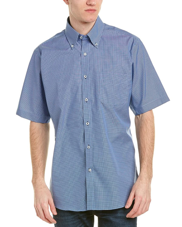 NWT #3735 Luchiano Visconti Men/'s Long Sleeve Botanical Print Shirt Limited Ed