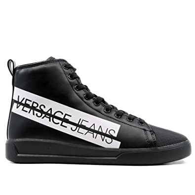 c03af5a3d5b Versace Jeans Men s EE0YSBSH5 High Trainers - - 14.5  Amazon.co.uk ...