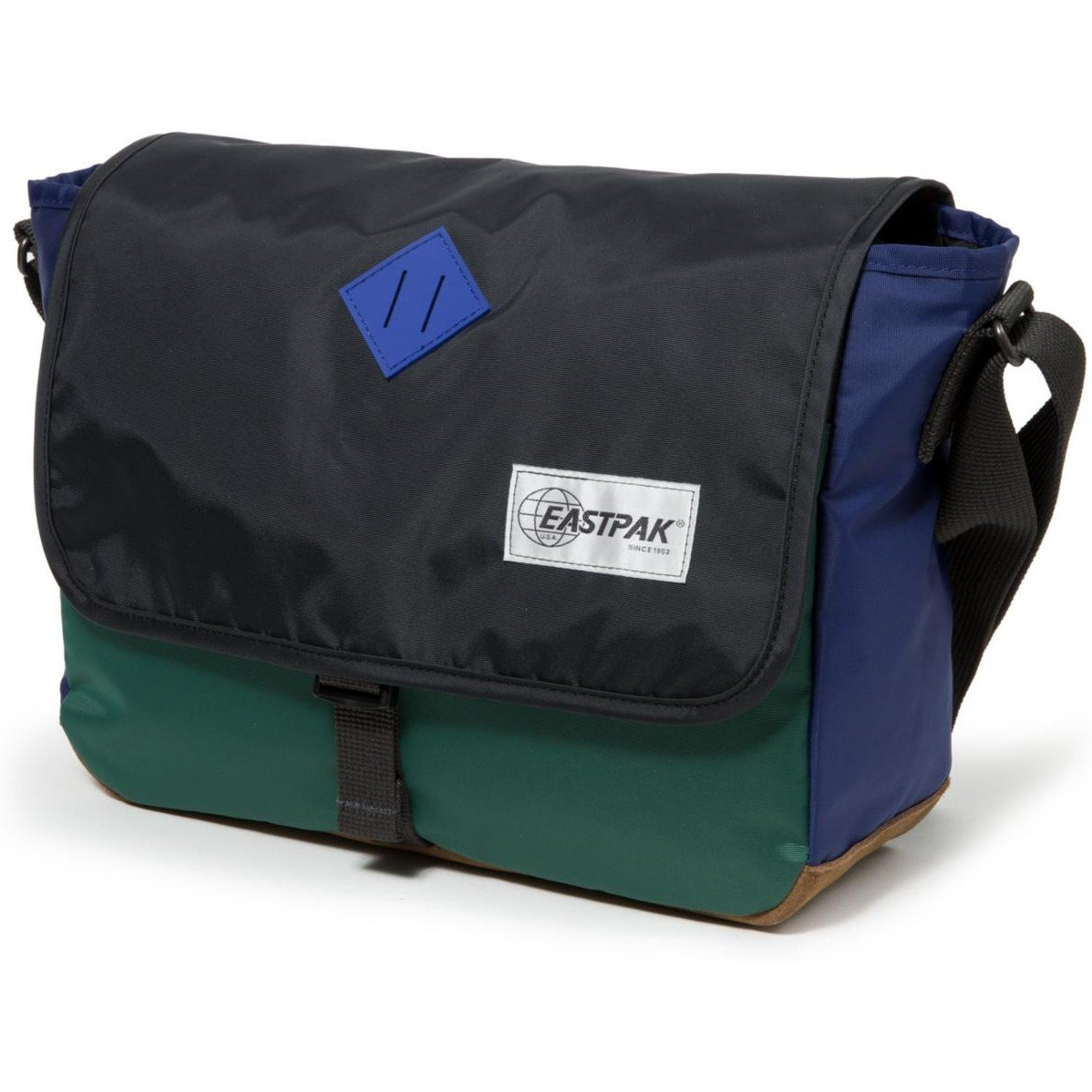 Size Jr Nylon Bloc Eastpak One Into Bag Messenger wSAxdIF