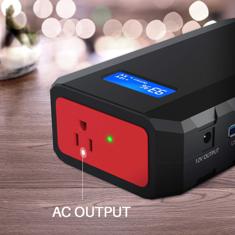 Amazon.com: Cargador portátil con toma de CA de 88,8 Wh, 65 ...