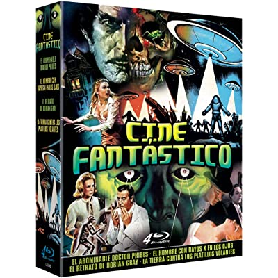 Pack El Hombre con Rayos X en los Ojos X The Man with the X Ray Eyes + La Tierra Contra los Platillos Volantes Earth vs. the Flying Saucers + El Abominable Dr. Phibes