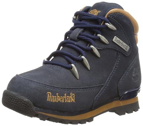 Zapatos azul marino Timberland Euro Sprint infantiles fjo6rQKGaV