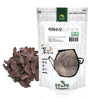 [Medicinal Korean Herb] Fleece Flower Root (Heshouwu/적하수오) Dried Bulk Herbs (4oz) 113g : Garden & Outdoor