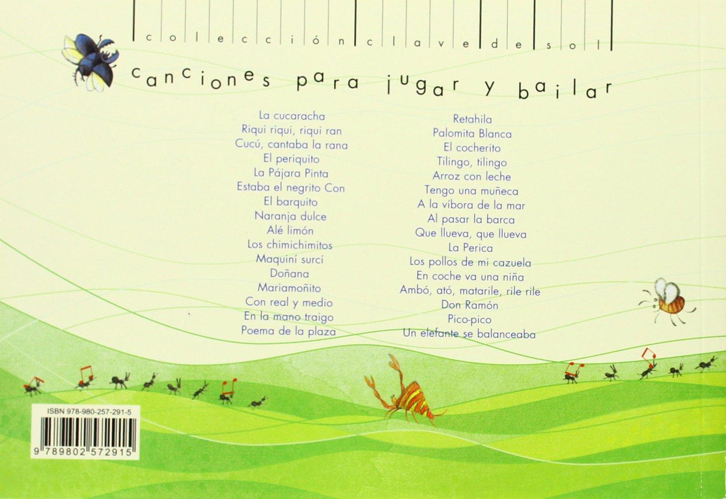 Riqui riqui, riqui ran: Canciones para jugar y bailar Clave de Sol: Amazon.es: DAVID MARQUEZ: Libros