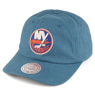 dfca096d4f3 Mitchell   Ness New York Islanders Snapback Cap - Slouch - Blue Adjustable