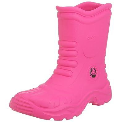5593c7478c6090 Crocs Georgie Wellington Boots Fuchsia UK 4  Amazon.co.uk  Shoes   Bags