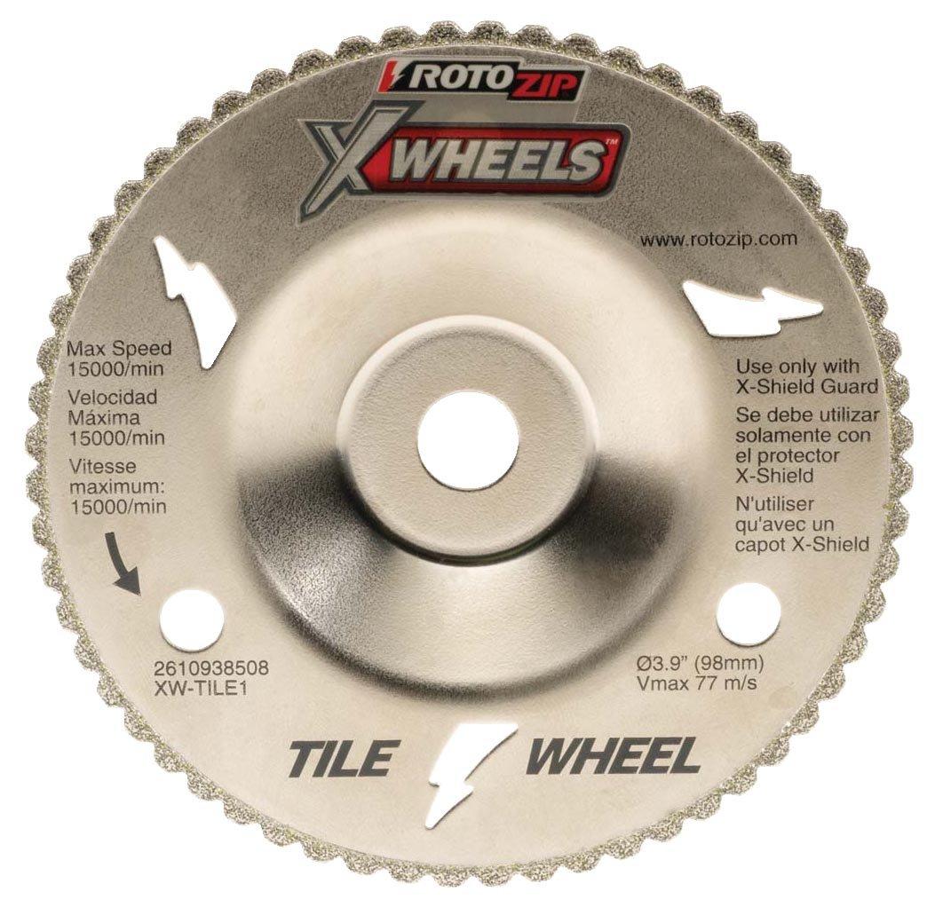 Rotozip xw tile1 tile x wheel diamond blades amazon dailygadgetfo Choice Image