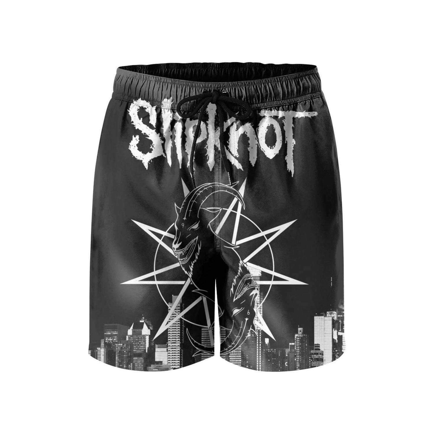 PUHANC Swim Trunks Shorts for Men Vacation Breathable Swimming Trunks
