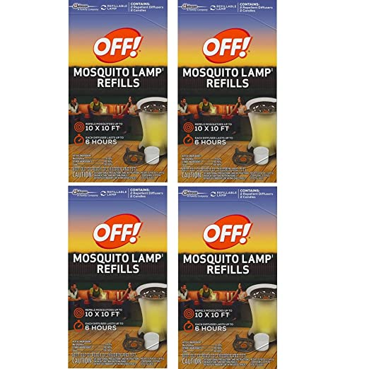 Amazon.com : S C JOHNSON WAX 76086 Off Mosquito Lamp Refill, 2 Pack (2 Box)  : Garden U0026 Outdoor