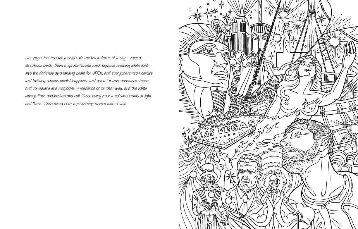 american gods the official coloring book neil gaiman