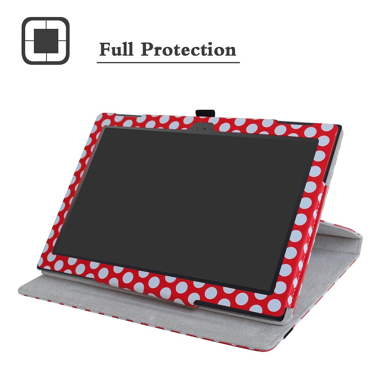 LiuShan Lenovo Tab 4 10 Rotante Custodia 360 Gradi di Rotazione Custodia in Pelle PU con Supporto Caso per 10.0 Lenovo Tab 4 10 TB-X304F Lenovo Tab 4 10 TB-X304L Android Tablet,Newspaper