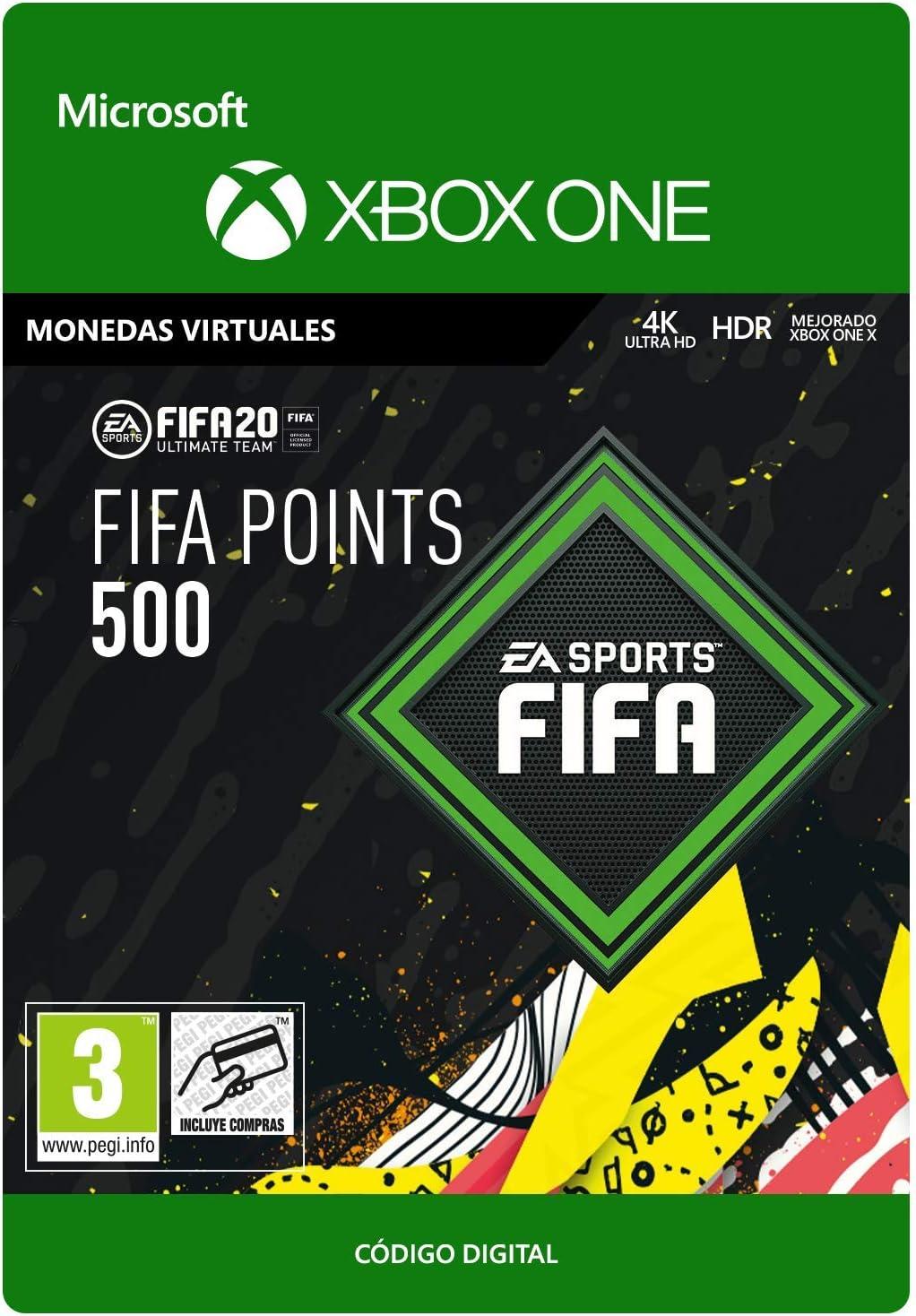 FIFA 20 Ultimate Team - 500 FIFA Points - Xbox One - Código de descarga: Amazon.es: Videojuegos