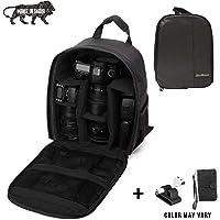 Brain Freezer J DSLR SLR Camera Lens Shoulder Backpack Case for Canon Nikon Sigma Olympus (Black)