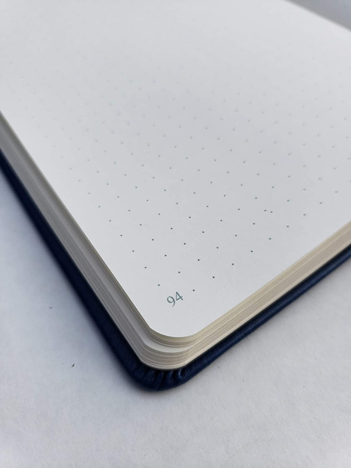 Collection Here 58th Ave Bullet Journal - Dot Grid red Executive Notebook Planner
