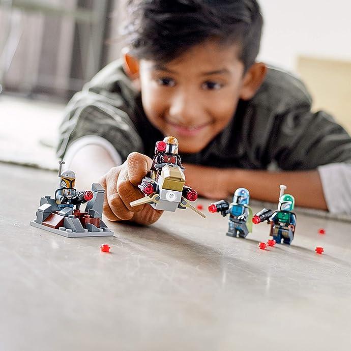 销量第一 LEGO 乐高 75267 星球大战系列 曼达洛人部队积木玩具 8折$11.99 海淘转运到手约¥94