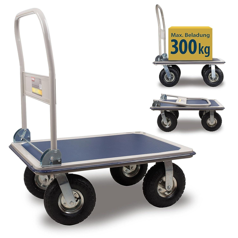 Plattformwagen klappbar - Verda Plattformwagen mit Luftbereifung