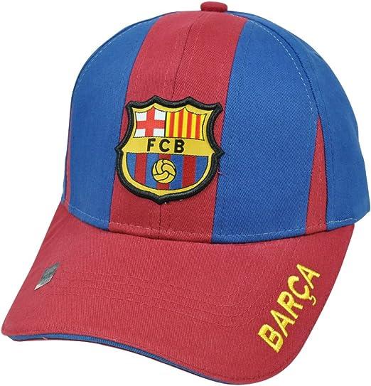Fútbol Rhinox España Espana c1e06 Barcelona Gorra Escudo FCB Barca Paneles Sombrero Cap: Amazon.es: Deportes y aire libre